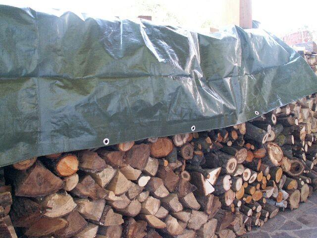 Holzabdeck Blache