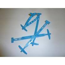 Knebel-Binder, blau