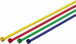 farbige Kabelbinder