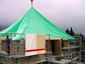 Not Dach 15m x 15m